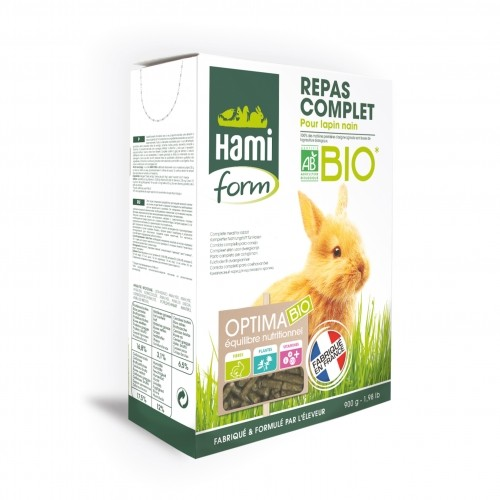 Aliment pour rongeur - Optima BIO lapin nain pour rongeurs