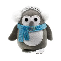 Peluche pour chat - Peluche Shaking Penguin pour chat Happy Pet